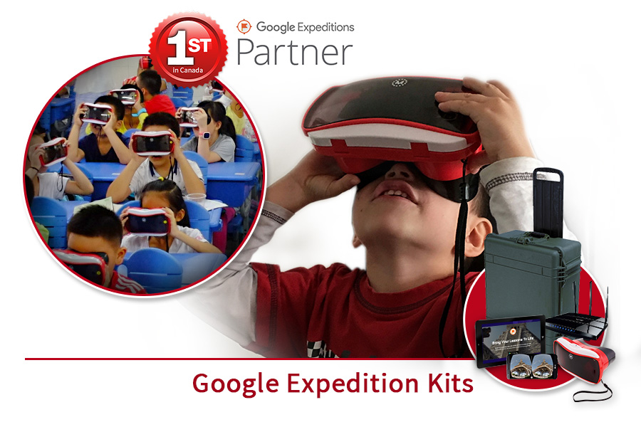 eweb360 google expedition kits
